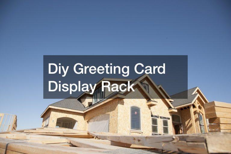 Diy Greeting Card Display Rack