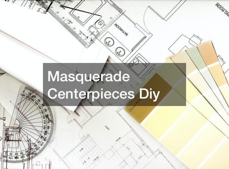 Masquerade Centerpieces Diy