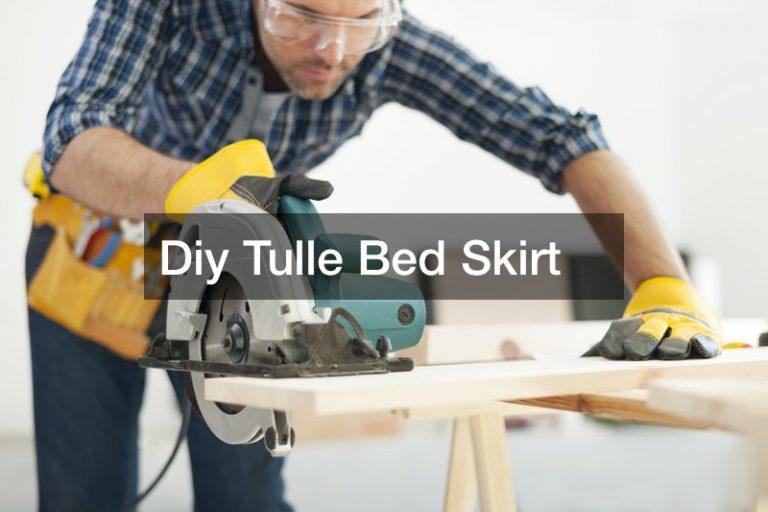 Diy Tulle Bed Skirt